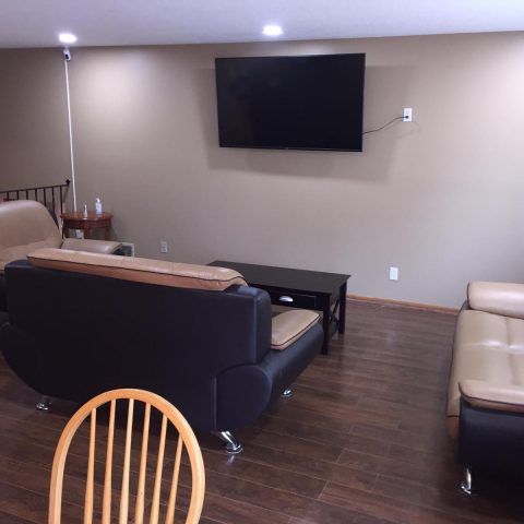 Common Area with TV